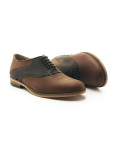 Sergeant Pepper (South Africa) - Our hand crafted Oxford saddle shoe, featuring full grain Brazilian leather and leather soles Saddle Shoes, Men's Shoes, Dress Shoes, Sgt Pepper, South Africa, Derby, Oxford Shoes, Lace Up, Leather