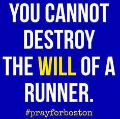 The Will of a #Runner! #prayforboston