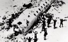 Sobrevintes do acidente de aviãos nos andes