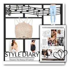 """""""Style diary-birthday day party (casual)"""" by beckibae1 ❤ liked on Polyvore featuring River Island and Garance Doré"""