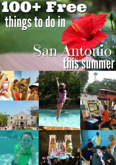 100+ free things to do in San Antonio this summer (2015)! from SanAntonioMomBlogs.com and @colleenpence