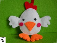 Chick felt / Kurczaczek filc