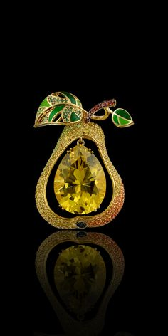 Master Exclusive Jewellery - Collection - Fruits and berries Citrine pendant. collection