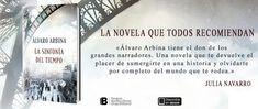 Pero Qué Locura de Libros.: ENCUENTRO CON  ÁLVARO ARBINA 'LA SINFONÍA DEL TIEM...