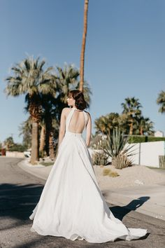 Soda Pop Wedding Dress by Georgia Young Couture. PINK LEMONADE is a glamorous escape where the Summer feels are everlasting. Drawing on inspiration from the Hollywood golden era and set in the epicentre of a thousand palms.This 5 piece collection liberates women in a way that is fun and feminine. SODA POP, OASIS, CALI, COLA and THE PALMS will become the new favourite gowns of the season. Summer Feeling, Pink Lemonade, Designer Wedding Dresses, High Fashion, Georgia, Ready To Wear, White Dress, Feminine, Hollywood