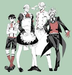 Black Butler X Attack on Titan Awesomeness!!!