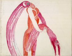 Louise Bourgeois  'Altered States', 1992 (Coll. du Centre Pompidou).
