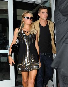 River Viiperi | Paris Hilton and model boyfriend River Viiperi seen leaving in style ...