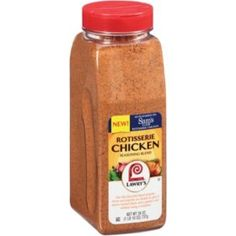 This is what Sam's Club uses on their chickens and is available only at Sam's. It's fantastic for home cooking! Chicken Spices, Chicken Flavors, Chicken Recipes, Sam's Club Rotisserie Chicken Recipe, Food Hacks, Food Tips, Gourmet Recipes, Healthy Recipes, Cooking
