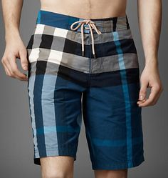 Check Swimming Shorts @ Burberry