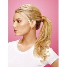 Wrap Around Pony Synthetic Hairpiece by Jessica Simpson hairdo