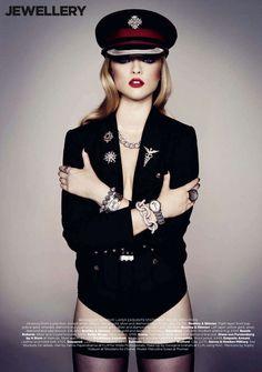 'Tough Luxe'  Marcelina Sowa Harper's Bazaar UK September 2011 Photo Shoot, love it!