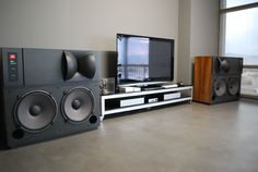 You are in the right place about luxury Audio Room Here we offer. Best Picture For Audio Roo. Room Speakers, Audio Room, Best Home Theater, Home Theater Rooms, Room Interior, Home Interior Design, Whole Home Audio, Room Acoustics, Audio Design