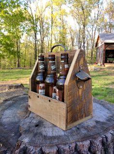 Wooden 6 pack holder https://m.facebook.com/TommyVaughnDesignsLLC/