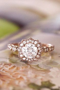 24 Dazzling Diamond Engagement Rings Of Her Dreams