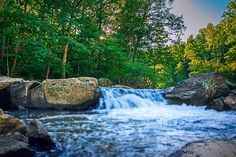 (via 500px / Small Falls on Difficult Run by Monico Havier)
