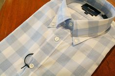 Faconnable  Plaid   Sport Shirt Blue | #Mondo #Uomo #Naples #Fashion