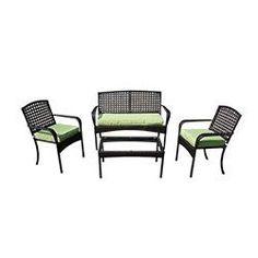 viona 4 piece conversation green