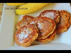 Jamaican Banana Fritters Recipe - can you tell I have some extra overripe bananas hanging around?
