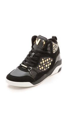 DKNY Cleo High Top Sneakers: Loving these
