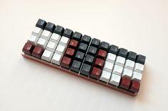 Wide Planck keyboard
