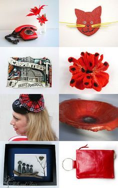 My red lips by Laura on Etsy--Pinned with TreasuryPin.com