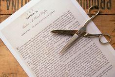 INSTANT DOWNLOAD antique letterpress book pages by LoquitaVintage, €3.00