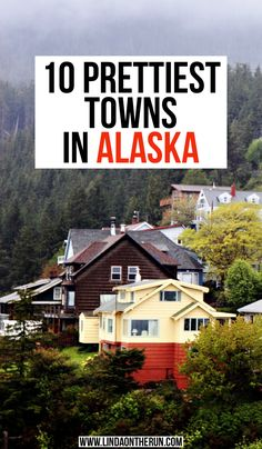 Are you looking for picturesque towns in Alaska to visit? I love Alaska, have been there several times and have compiled a list for you of stunning AK towns Usa Travel, Alaska Travel, Solo Travel, Travel Tips, Alaska Trip, Canada Travel, Travel Goals, Travel Advice, Travel Ideas