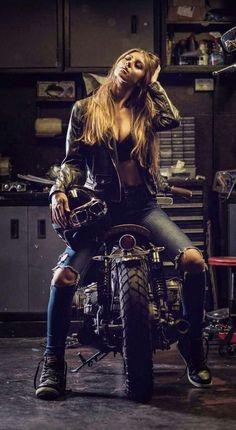 Visit www.bobberbrother… for custom motorcycle apparel. Custom Culture Bobber… Visit www.bobberbrother… for custom motorcycle apparel. Moto Chopper, Chopper Motorcycle, Motorcycle Style, Motorcycle Outfit, Motorcycle Fashion, Motorcycle Jacket, Lady Biker, Biker Girl, Style Moto