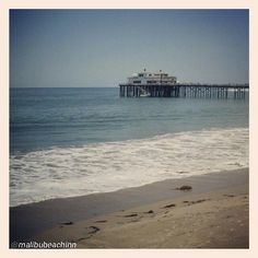 """@curebydrbenya's photo: """"View from CURE Spa at the Malibu Beach Inn. #CURESpa #CURE #Malibu #MalibuPier #oceanfront #ocean #picoftheday #photooftheday"""""""