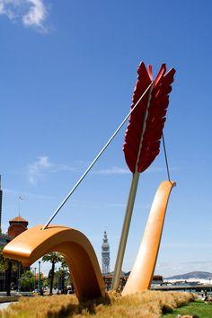 Coosje van Bruggen+Claes Oldenburg