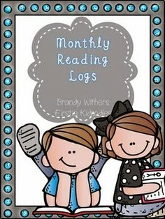 Monthly Reading Log Calendars in my store. 50% for the next 24 hours! Start planning for next year! Firstie Kidoodles