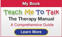 Teach Me to Talk-toddlers and preschoolers - by Laura Mize SLP Part I -WHY you're doing what you do in sessions! Part II  a comprehensive list of therapy goals & instructions targeting each. Pinned by SOS Inc. Resources @sostherapy http://pinterest.com/sostherapy.