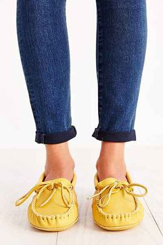 Manitobah Classic Moccasin - Urban Outfitters Moccasins, Urban Outfitters, Baby Shoes, Flats, Classic, Stuff To Buy, Clothes, Style, Fashion