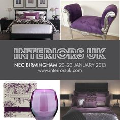 I have enjoyed putting together my #FutureInteriors board for Interiors UK so much, I have decided to do lots more on a regular basis! I hope you have enjoyed following my forecasted trends for 2014/15 - with the help of my clients, followers and friends we will see if deep purples and mirror/chrome silver really will be on trend in the near future! Check out my website for updates www.mila-interiors.co.uk
