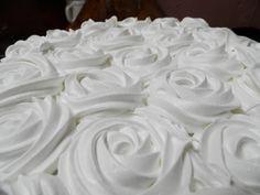 deco con rosas para torta