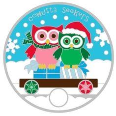 2013-28703-Christmas-Owl-PTE-Express-Train-pathtag-Geocoin-alt