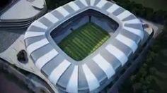Vídeo revela imagens de projeto do futuro estádio do Atlético-MG. Assista #globoesporte