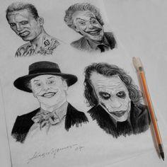 Sketchbook - Rabiscando Coringas