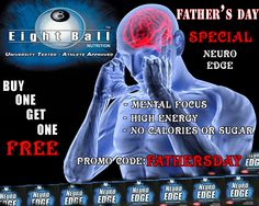 Father's Day Special: Add two Neuro Edges to shopping cart, get 1 free, Promo Code:FATHERSDAY #Fathersday