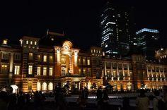 東京夜景2ー東京駅ーの画像:季節の記憶