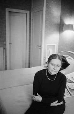 Doris Lessing in France in 1981