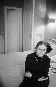 Doris Lessing in France in 1981