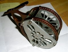 New reel to look at if you like it I will make more. Fly Reels, Fishing Reels, Fly Fishing, Hunting Supplies, Fishing Stuff, Trout, Old And New, Kayaking, Dragons