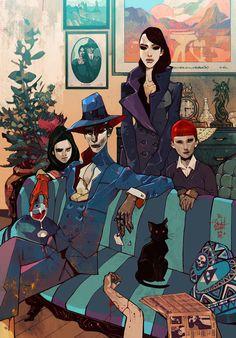 The Surreal Fantasy & Cyberpunk Illustrations Jakub Rebelka Art And Illustration, Illustrations, Cyberpunk, Comic Kunst, Comic Art, Fantasy Paintings, Fantasy Art, Street Art, Creative Inspiration