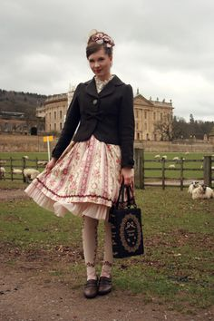 Day 14, in Chatsworth (house of the Duke of Devonshire, where the movies The Duchess and Pride and Prejudice were filmed). With sheep, of co...