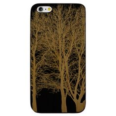 Tree Forest- Laser Engraved Wood Phone Case (Maple,Cherry,Black,Cork)