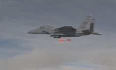 The Aviationist » Watch a U.S. Air Force F-15E drop a dummy Nuclear Bomb on Nevada range during a test