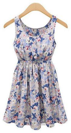 #idreammart #fashiondress #dress #pencildress #freeshipping Shop sweet floral print little chiffon dress. Find featured formal dresses for intellectual women from idreammart.com.