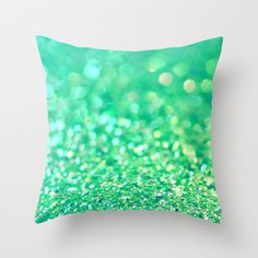 Aquatic Sea Throw Pillow by Lisa Argyropoulos - $20.00